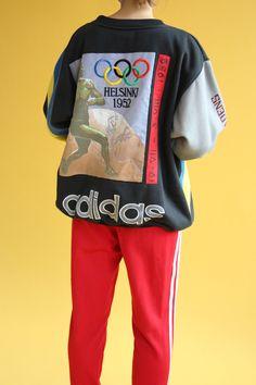 bf429ecf62cdd 8 Best Vintage adidas sweatshirts images