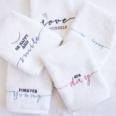 Cabo, Towels, Embroidery, Natural, Wedding Cross Stitch, Embroidered Towels, Weaving, Dressmaking, Bath Robes