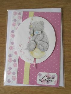 Docrafts Me to You (Tatty Teddy) Spring Collection papercraft Kit Tatty Teddy, Teddy Bear, Beautiful Birthday Cards, Bear Card, Spring Collection, Friends Forever, Bears, Card Ideas, Stamps