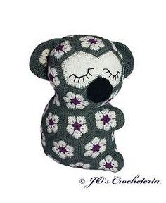 ♥ Crochet Pattern - Lily the African Flower Koala ♥