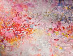 Original abstract painting by Amy Donaldson, You are my Hope, 48 x 60 in.