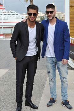 Maxi Iglesias y Luis Fernández