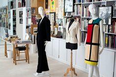 Inside Yves's studio