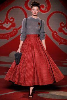 Ulyana Sergeenko Fall 2012 Couture Fashion Show