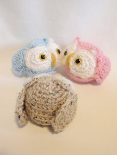 Nursery OWL. . . in PINK and BLUE. . .Baby Shower Gift or Decoration