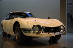 """Fun fact about the 1968 Toyota 2000GT: when it was used in the Bond film """"You Only Live Twice"""", it had to be customized because Sean Connery couldn't fit in the original form. #Toyota2000GT #Toyota #JamesBond"""
