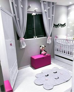 Your inspiration here Toys, Kids & Baby - Kinderzimmer Design Baby Bedroom, Baby Room Decor, Nursery Room, Boy Room, Girl Nursery, Girls Bedroom, Bedroom Decor, Bedroom Ideas, Baby Girl Rooms
