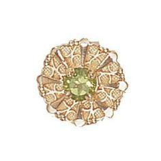 14 Karat Gold Peridot image 1