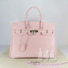 Pink Hermes Kelly bag knockoff