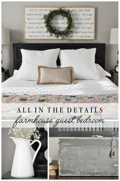 Guest Bedroom Pin from Little Glass Jar