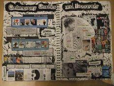 Gcse art sketchbook layout backgrounds colour 56 ideas for 2019 Kunstjournal Inspiration, Sketchbook Inspiration, Sketchbook Ideas, Kunst Inspo, Art Inspo, Typography Sketchbooks, Typography Layout, Photography Sketchbook, Cactus Photography