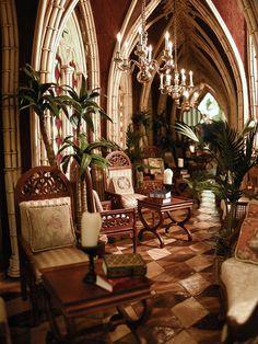 Infinity Hall    Infinity Hall a 1 :12 Scale Gothic Style Room Box by Ken Haseltine, JBM FurnishingsBy Ken@JBM  Ken Haseltine