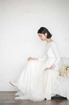 Wedding Dress With Veil, Dream Wedding Dresses, Wedding Gowns, Short Bridal Hair, Minimal Wedding, Hair Setting, Wedding Hair And Makeup, Red Carpet Dresses, Wedding Images