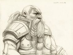 Dwarf Warrior by Kimsuyeong81.deviantart.com on @deviantART  https://www.facebook.com/SuYeongArt https://www.instagram.com/suyeongart