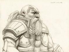 Dwarf Warrior by Kimsuyeong81.deviantart.com on @deviantART  https://www.facebook.com/SuYeongArt https://www.instagram.com/suyeongart