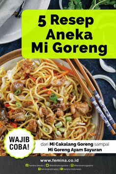 Mie Goreng, Nasi Goreng, Mi Goreng Recipe, Asian Recipes, Ethnic Recipes, Indonesian Food, Dessert Drinks, Seafood, Food And Drink