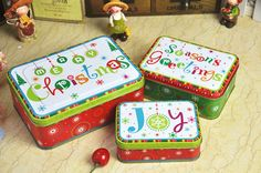 Cookie Tin, Fonts, Lunch Box, Cookies, Christmas, Designer Fonts, Crack Crackers, Xmas, Cookie Box