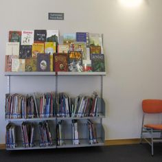 Picture Book Shelving.  Sophisticated picture book collection, Burnside High School Library | Services to Schools