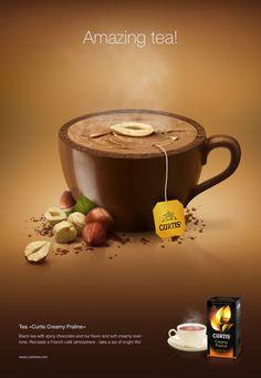 Tasty kettles for Curtis by Catzwolf, via Behance, tea ad
