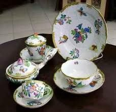 Herend, beautiful Hungarian hand painted porcelain