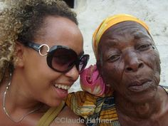 """Claude Haffner: """"Black Here, White There"""" Martin Luther King, Claude, African Women, Film Festival, Filmmaking, Round Sunglasses, Footprints, Interview, Actresses"""