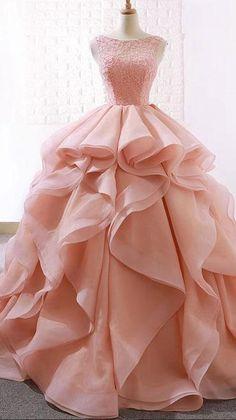 Senior Prom Dresses, Pink Prom Dresses, Sweet 16 Dresses, Sweet Dress, Ball Dresses, Quinceanera Dresses, Pretty Dresses, Evening Dresses, Formal Dresses