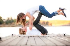 I also want this as one of my personal senior pictures with him.. :)