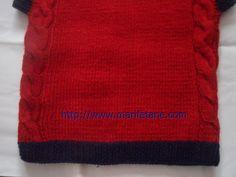 Açıklamali Örgü Burgulu Çocuk Süveteri knit sweater pattern AÇIKLAMA BURADA:http://www.marifetane.com/2013/01/acklamali-orgu-burgulu-cocuk-suveteri.html