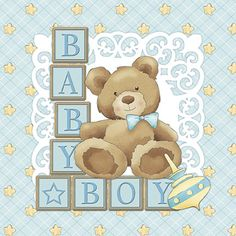 Litoarte Baby Boy 12 x 12 in. Scrapbooking Paper Pack - Litoarte Baby Boy 12 x 12 in. Scrapbook Bebe, Scrapbook Paper, Baby Boy Scrapbook, Album Baby, Dibujos Baby Shower, Baby Barn, Baby Posters, Baby Christening, Baby Prints