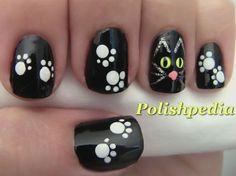 diseno de unas dia de brujas o halloween, Halloween nail designs