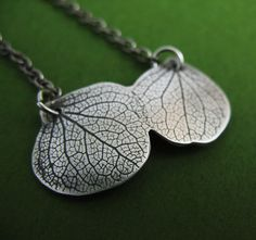 Kissing Hydrangea Necklace