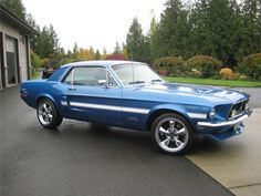 1968 FORD MUSTANG COUPE - Front 3/4 - 154084