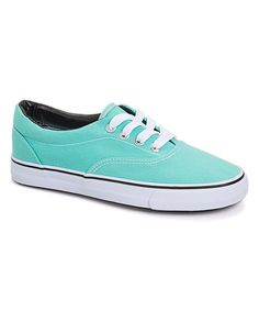 Another great find on #zulily! Ositos Shoes Teal Classic Sneaker by Ositos Shoes #zulilyfinds