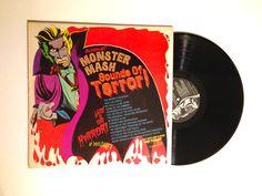 Monster Mash Sounds Of Terror LP Album 1974 Halloween Wade Denning Dr Jeckyll Mr Hyde Lost Souls King Kong Zombie Vinyl Record