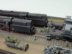 1/144th Scale - Wehrmacht – Krupp 800mm (31.5inch) Railway Gun (Dora) (5)