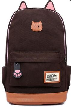 cf364fe578 2016 Cat Ears Campus Retro Backpack