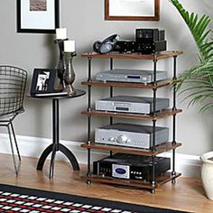 Salamander Archetype 5.0 Five Shelf Audio Rack