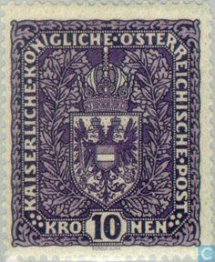 Stamps - Austria - Empire Arms