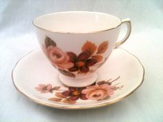 Vintage Queen Anne by Ridgway China Cup and Saucer. £10.00, via Etsy.