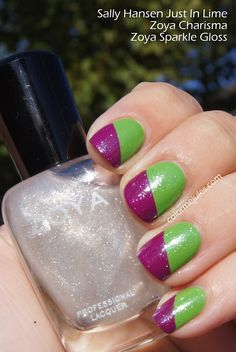 """Special effect toppers Zoya """"Sparkle Gloss""""  One mani"""
