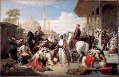 Harem Slave Market | The Slave Market, Constantinople (1838) by William Allan,National ...