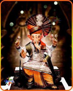Ganpati Bappa Images 2020: Wishes, Quotes, Fb & Whatsapp status Shri Ganesh Images, Durga Images, Ganesha Pictures, Ganpati Photo Hd, Ganpati Bappa Photo, Baby Ganesha, Ganesha Art, Ganesha Drawing, Shiva Art