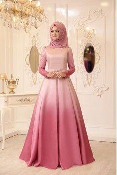 Ebruli Evening Dress – Powder – Best Of Likes Share Muslim Evening Dresses, Hijab Evening Dress, Muslim Dress, Pakistani Dresses, Abaya Fashion, Muslim Fashion, Fashion Dresses, Elegant Dresses, Beautiful Dresses