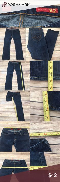 🍃Size 10 Express X2 Dark Wash Skinny Denim Jeans Measurements are in photos. Normal wash wear, no flaws. F2/30  I do not comment to my buyers after purchases, due to their privacy. If you would like any reassurance after your purchase that I did receive your order, please feel free to comment on the listing and I will promptly respond. I ship everyday and I always package safely. Thanks! Express Jeans Skinny