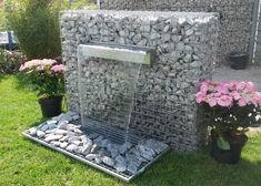aus gabionen kann man nicht nur deko für den garten bauen, sondern, Garten seite