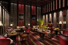 hotel lounge Four Seasons Hotel Shanghai Lounge 2 - hotel Hotel Lounge, Bar Lounge, Four Seasons Hotel, Design Hotel, Chinese Restaurant, Cafe Restaurant, Hotel Interiors, Luxury Apartments, Arequipa