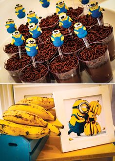 One in a Minion Birthday Party {Despicable Me} // Hostess with the Mostess® Like this.