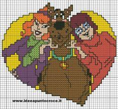 ENCANTOS EM PONTO CRUZ: Scooby Doo