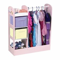Dress Up Center in Princess Room for wardrobe changes!