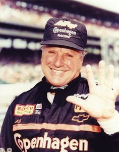 Indie Car and Nascar driver, A.J. Foyt. He can win a race in any car you give him.